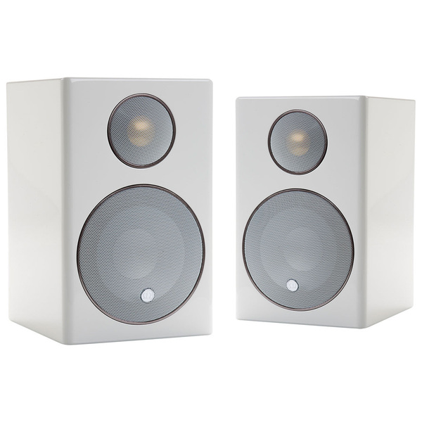 Полочная акустика Monitor Audio Radius 90 High Gloss White акустика центрального канала piega classic center large macassar high gloss