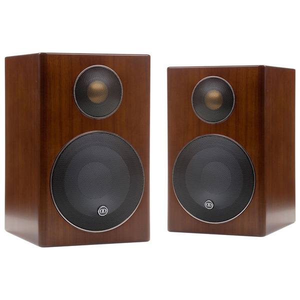 Полочная акустика Monitor Audio Radius 90 Walnut audio physic tempo 25 walnut
