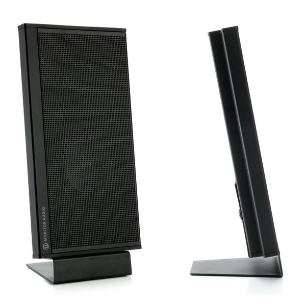 Настенная акустика Monitor Audio Shadow 25 Black (уценённый товар) полочная акустика kef c3 black уценённый товар