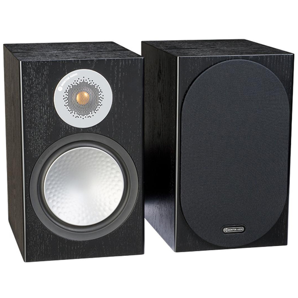Полочная акустика Monitor Audio Silver 100 Black Oak monitor audio silver 2 black oak