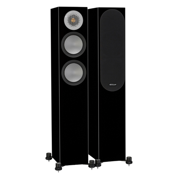 Напольная акустика Monitor Audio Silver 200 Black Gloss jiahui tcrt5000 photoelectric sensor module black silver