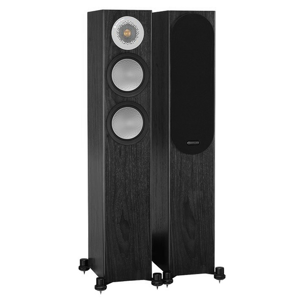 Напольная акустика Monitor Audio Silver 200 Black Oak колонки monitor audio silver 200 black oak