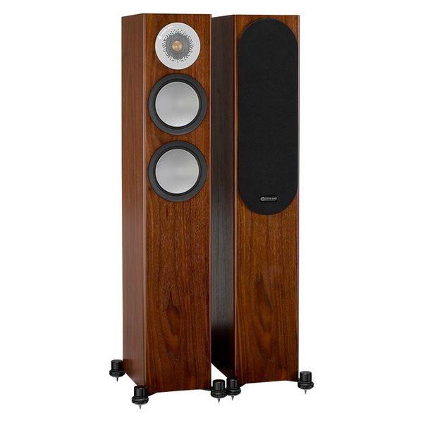 Напольная акустика Monitor Audio Silver 200 Walnut акустика центрального канала paradigm prestige 45c black walnut