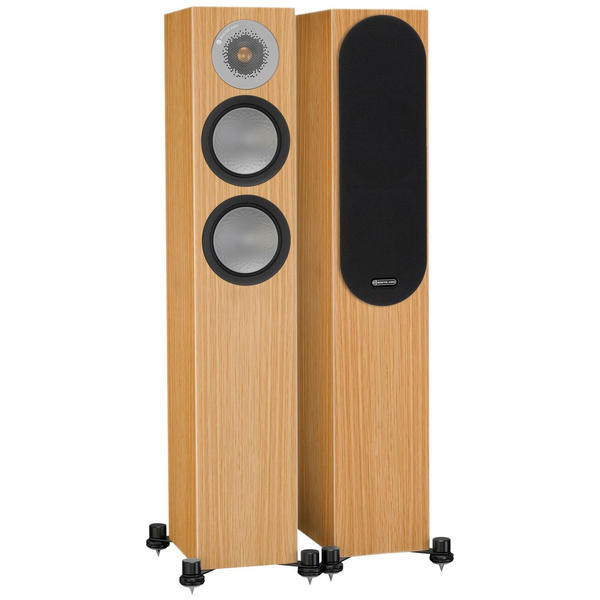 Напольная акустика Monitor Audio Silver 200 Natural Oak колонки monitor audio silver 200 black oak