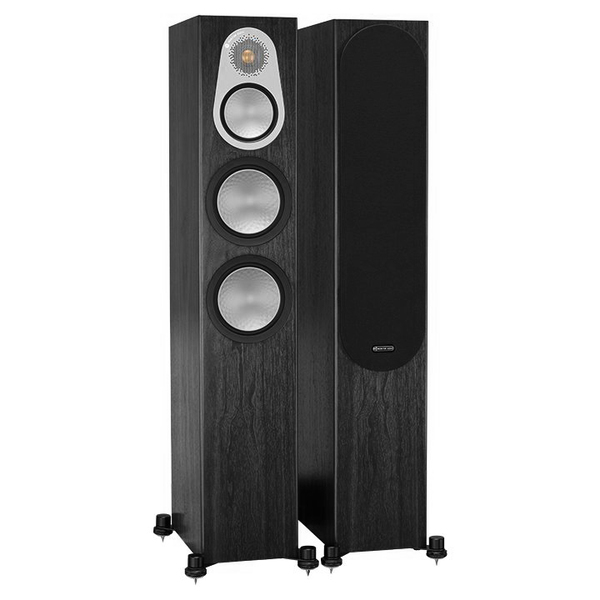 Напольная акустика Monitor Audio Silver 300 Black Oak колонки monitor audio silver 200 black oak