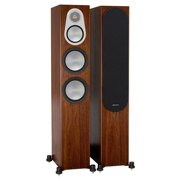 Напольная акустика Monitor Audio Silver 300 Walnut акустика центрального канала paradigm prestige 45c black walnut