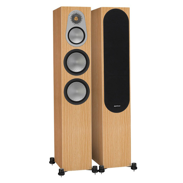 Напольная акустика Monitor Audio Silver 300 Natural Oak monitor audio silver 2 black oak