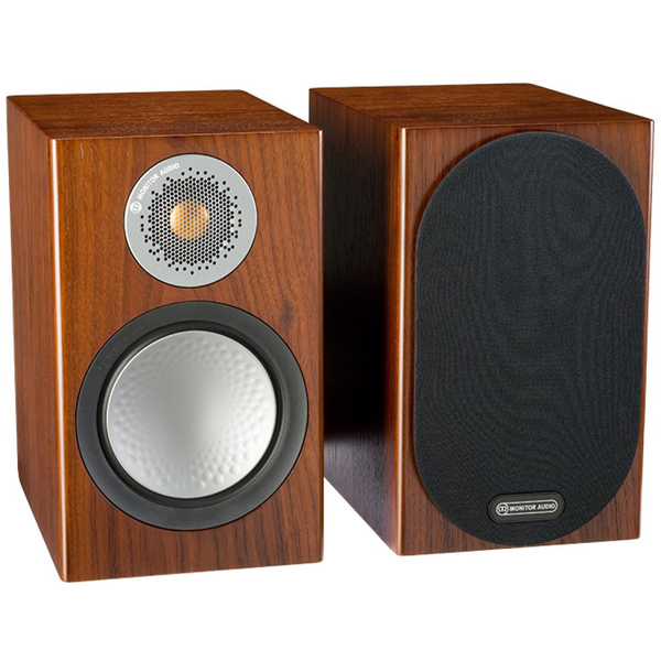Полочная акустика Monitor Audio Silver 50 Walnut monitor audio silver centre walnut