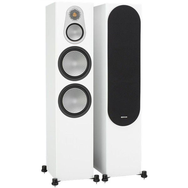 Напольная акустика Monitor Audio Silver 500 White центральный канал monitor audio silver c150
