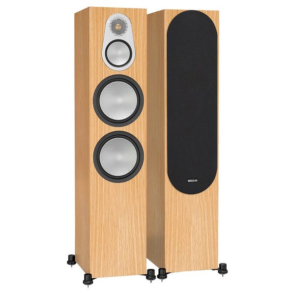 Напольная акустика Monitor Audio Silver 500 Natural Oak monitor audio silver 2 black oak
