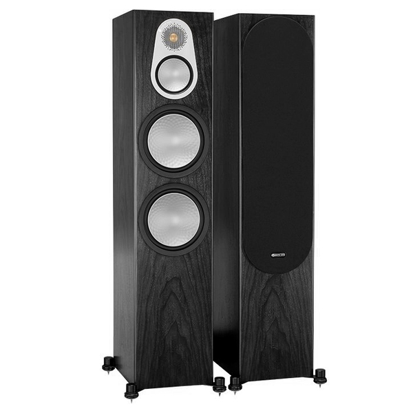 Напольная акустика Monitor Audio Silver 500 Black Oak колонки monitor audio silver 200 black oak