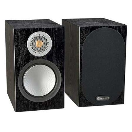 Полочная акустика Monitor Audio Silver 50 Black Oak колонки monitor audio silver 200 black oak