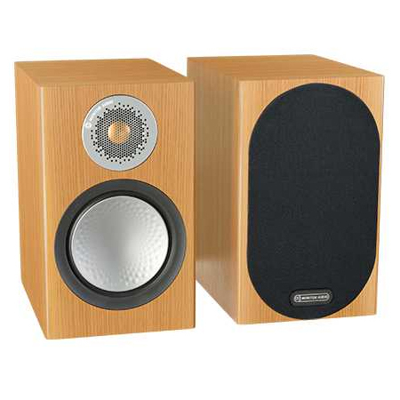 Полочная акустика Monitor Audio Silver 50 Natural Oak monitor audio silver 2 black oak