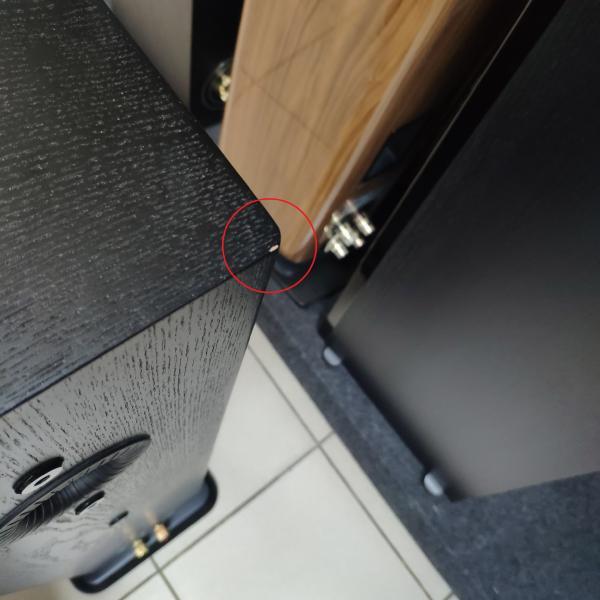 Напольная акустика Monitor Audio Silver 6 Black Oak (уценённый товар)