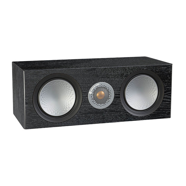Центральный громкоговоритель Monitor Audio Silver C150 Black Oak акустика центрального канала asw opus c 14 dark oak eggshell black