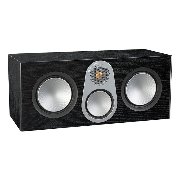 Центральный громкоговоритель Monitor Audio Silver C350 Black Oak акустика центрального канала asw opus c 14 dark oak eggshell black