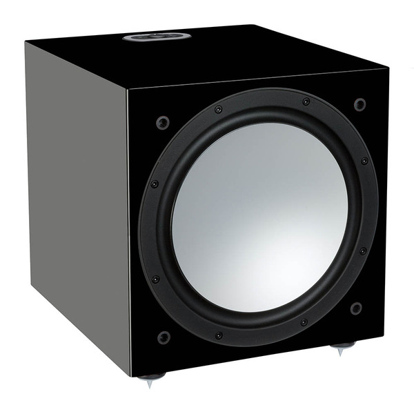 Активный сабвуфер Monitor Audio Silver W12 6G Black Gloss
