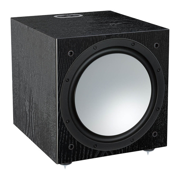 Активный сабвуфер Monitor Audio Silver W12 6G Black Oak колонки monitor audio silver 200 black oak
