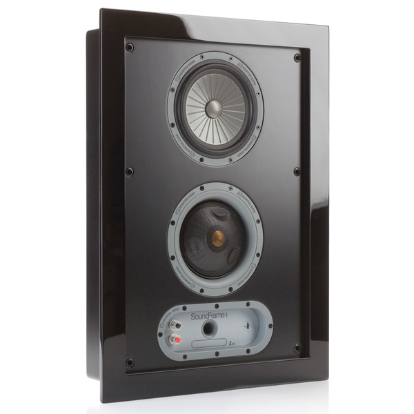 Настенная акустика Monitor Audio SoundFrame 1 OnWall Black встраиваемые колонки monitor audio soundframe 2 on wall black
