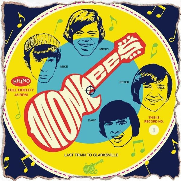Monkees Monkees - Cereal Box Singles (4 X 7 )