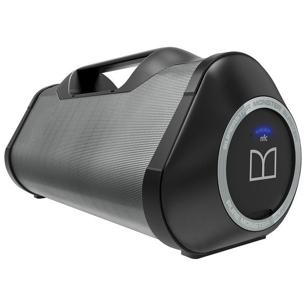 Портативная колонка Monster SuperStar Blaster High Performance Bluetooth Boombox Black детские наклейки монстер хай monster high альбом наклеек