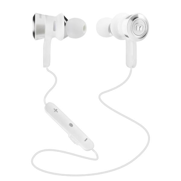 Беспроводные наушники Monster Clarity HD In-ear Bluetooth White беспроводные наушники monster isport freedom wireless bluetooth on ear green