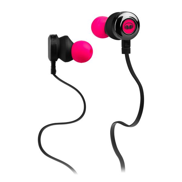 все цены на Внутриканальные наушники Monster Clarity HD In-Ear Headphones Neon Pink