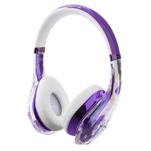 Накладные наушники Monster DiamondZ Purple and White sennheiser cx 3 00 шумоизолирующие наушники white