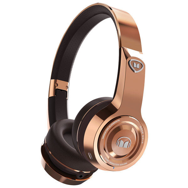Беспроводные наушники Monster Elements Wireless On-Ear Rose Gold анна нетребко юсиф эйвазов oamb сан паулу