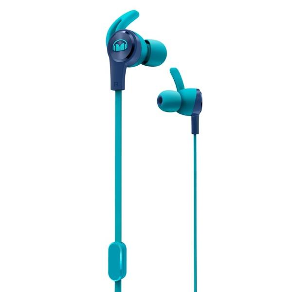 Внутриканальные наушники Monster iSport Achieve Blue беспроводные наушники monster isport freedom wireless bluetooth on ear green