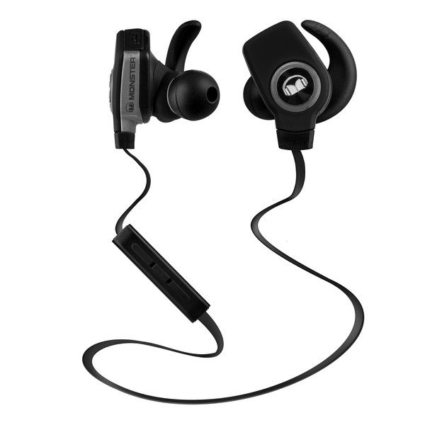 Беспроводные наушники Monster iSport Bluetooth Wireless SuperSlim In-Ear Black беспроводные наушники monster isport victory in ear wireless blue