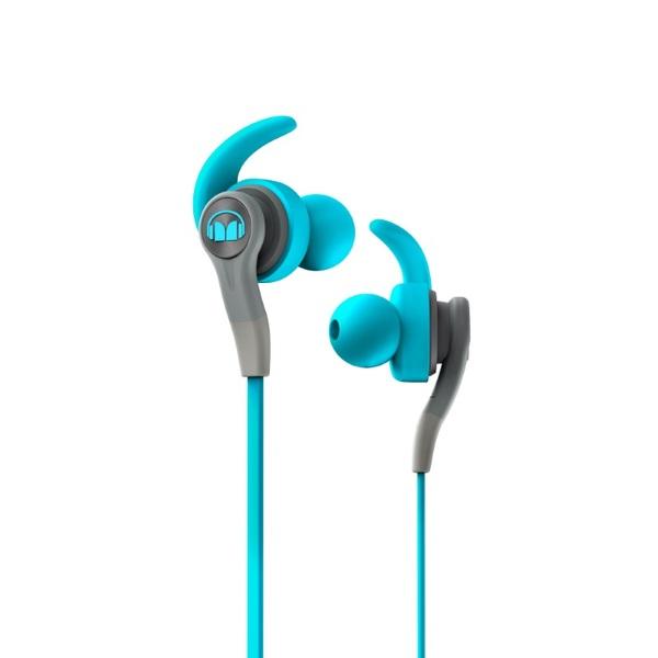 Внутриканальные наушники Monster iSport Compete In-Ear Blue акция