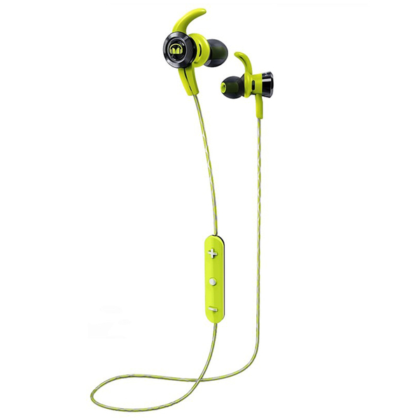 Беспроводные наушники Monster iSport Victory In-Ear Wireless Green беспроводные наушники monster isport victory in ear wireless blue