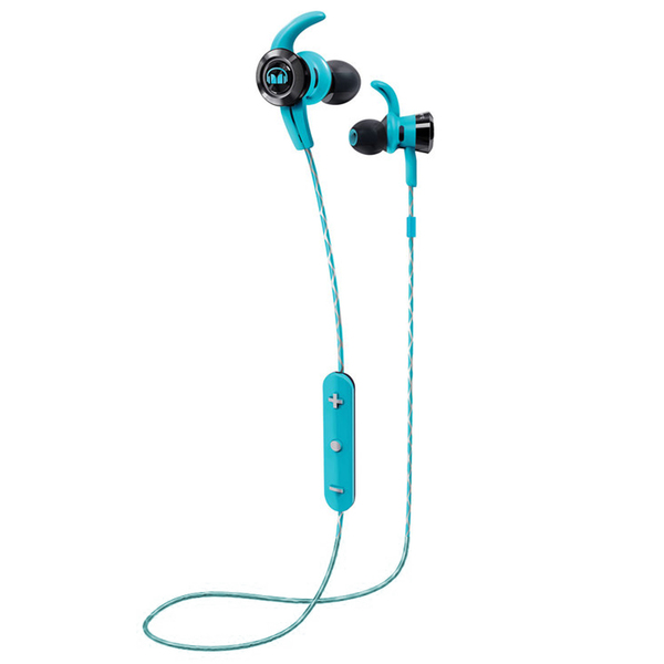 Беспроводные наушники Monster iSport Victory In-Ear Wireless Blue беспроводные наушники monster isport victory in ear wireless blue