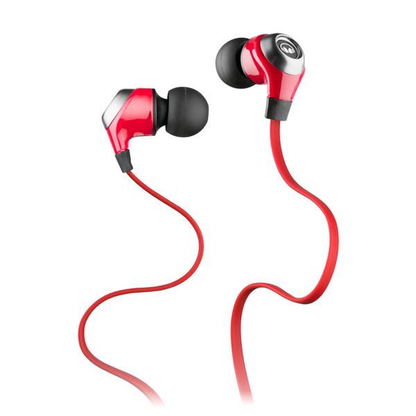 Внутриканальные наушники Monster N-Lite In-Ear Red беспроводные наушники monster isport freedom wireless bluetooth on ear green