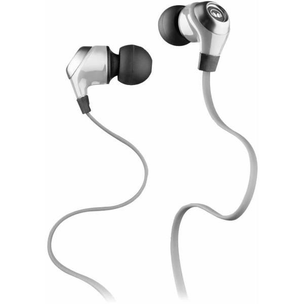 Внутриканальные наушники Monster N-Lite In-Ear Silver беспроводные наушники monster isport freedom wireless bluetooth on ear green