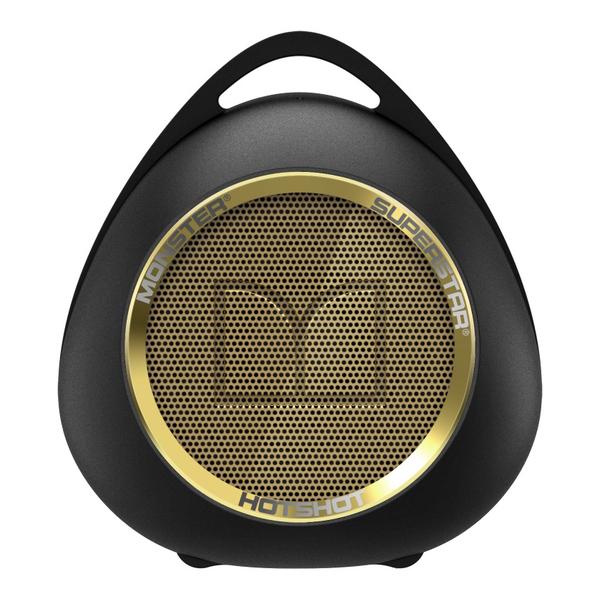Портативная колонка Monster SuperStar HotShot Portable Bluetooth Black/Gold портативная колонка monster superstar blaster 129287 00