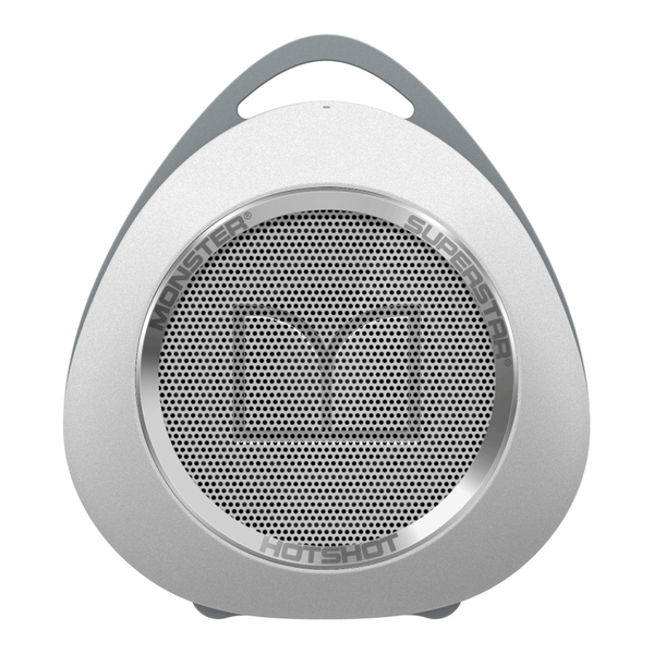 Портативная колонка Monster SuperStar HotShot Portable Bluetooth White/Chrome