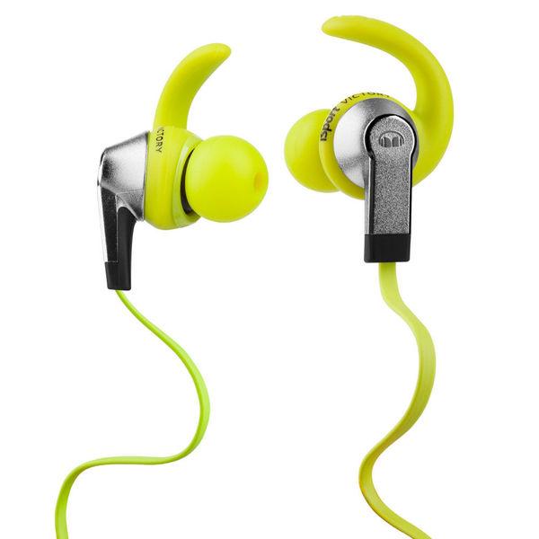 Внутриканальные наушники Monster iSport Victory Green беспроводные наушники monster isport freedom wireless bluetooth on ear green