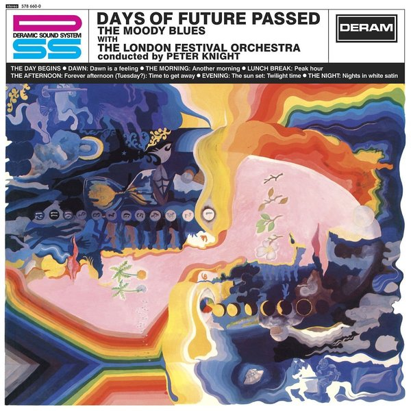 Moody Blues Moody Blues - Days Of Future Passed judy moody mood martian