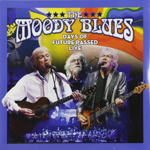 Moody Blues Moody Blues - The Moody Blues-days Of Future Passed Live (2 LP) judy moody mood martian