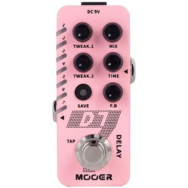 Педаль эффектов Mooer D7 Delay