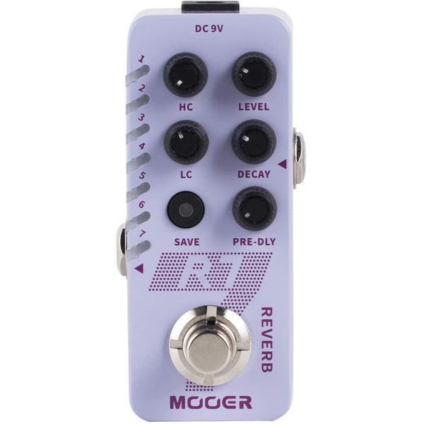 Педаль эффектов Mooer R7 Reverb