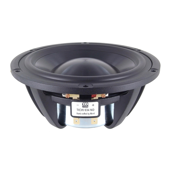 Динамик НЧ Morel Titanium Former Woofer TICW 634ND (1 шт.) morel classic advanced woofer caw 428 1 шт