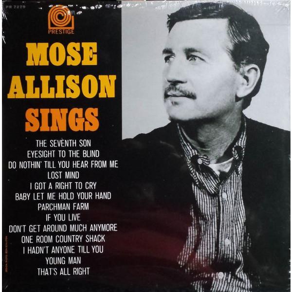 Mose Allison Mose Allison - Mose Sings mose allison mose allison mose sings