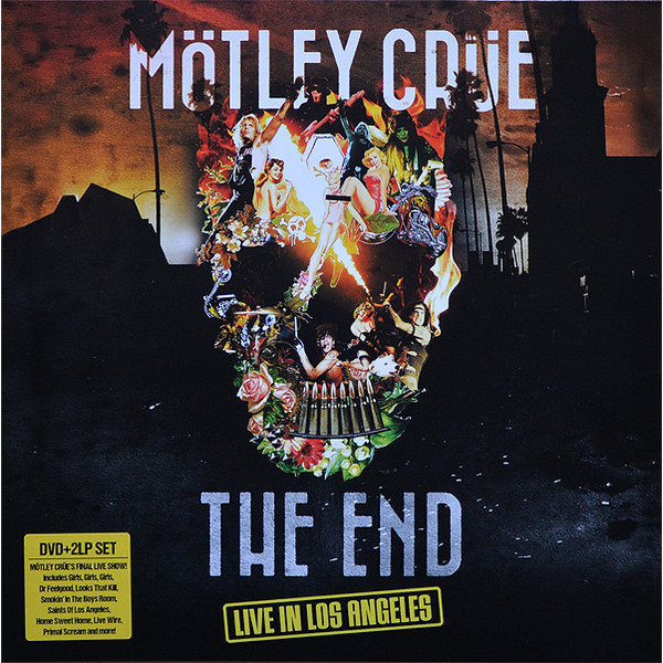 Motley Crue Motley Crue - The End - Live In Los Angeles (2 Lp+dvd) mp3 dvd дидюля live in kremlin