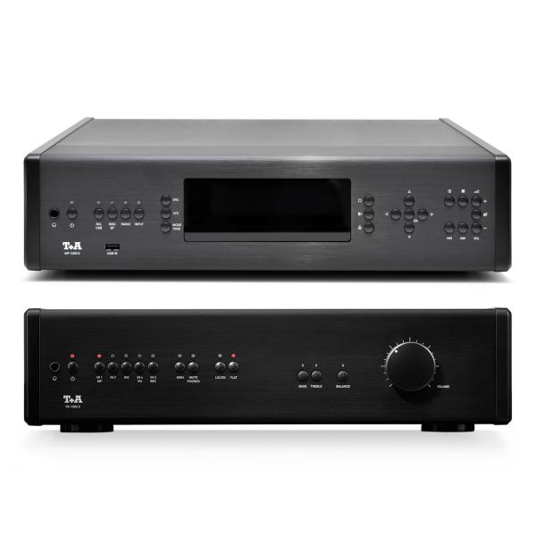 CD проигрыватель T+A MP 1000 E + PA Black
