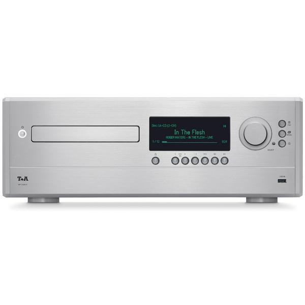 Сетевой проигрыватель T+A MP 2500 R Silver smal a6 hifi digital audio amplifier usb dac dsd512 usb optical coaxial lp player cd analog input headphone out amplifier 50w 2