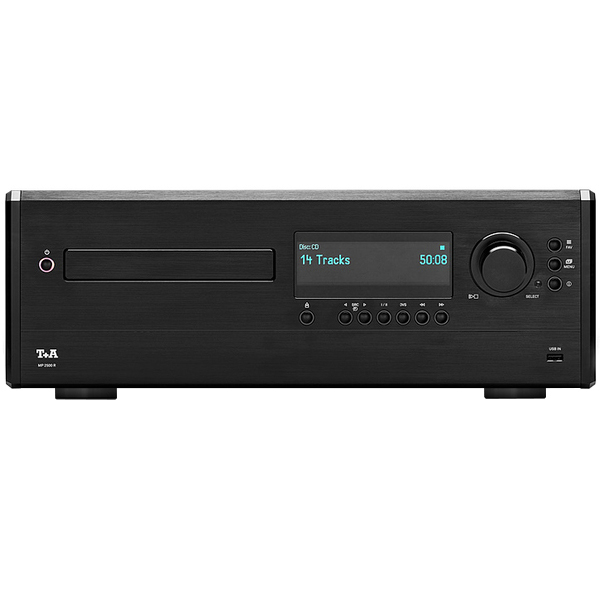 Сетевой проигрыватель T+A MP 2500 R Black smal a6 hifi digital audio amplifier usb dac dsd512 usb optical coaxial lp player cd analog input headphone out amplifier 50w 2