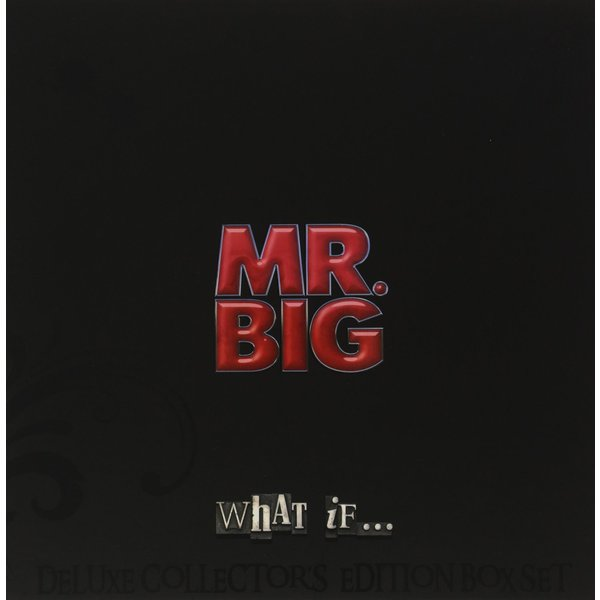 Mr Big Mr Big - What If (lp+cd+dvd) ss94a1f sensor mr li